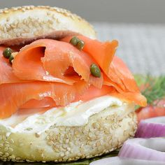 Lox and Bagels Recipe - Click to enlarge