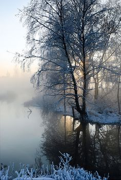 Winter river | Winter river | Markku Heikkilä Photography | Flickr