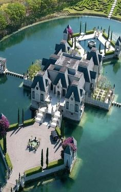 Dream house...with moat