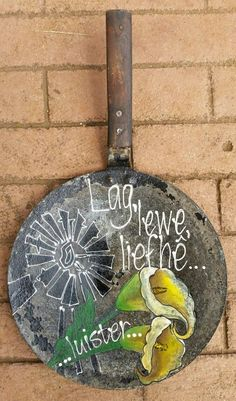 Sweet Quotes, Cute Quotes, Recycled Furniture, Garden Furniture, Cement Flower Pots, Zentangle Drawings, Diy Art Projects, Garden Signs, Art Boards