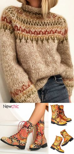 Diy Free Knitting Patterns, Jumpers For Women, Sweaters For Women, Kinds Of Clothes, Clothes For Women, Denim Crafts, Sweater Refashion, Dresses For Less, Cozy Sweaters
