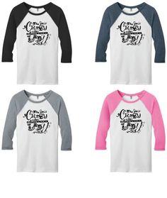 Hide Your Crazy & Start Acting Like A Lady Raglan T-Shirt Miranda Lambert #DistrictThreads #GraphicTee