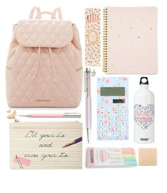 """""""Fit for a princess"""" by prettyorchid22 ❤ liked on Polyvore featuring interior, interiors, interior design, home, home decor, interior decorating, Swarovski, Vera Bradley, Kate Spade and Ladurée"""