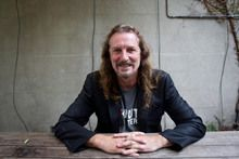 "NZ's own ""Westie"" comedian, Ewen Gilmour. Photo / Richard Robinson - New Zealand comedian and Variety NZ Ambassador Ewen Gilmour died suddenly overnight."