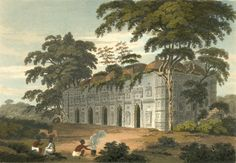 Chhoto Shona Mosque, 1817 with Gold guided domes