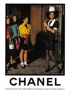Vintage Chanel Advert SS 1988