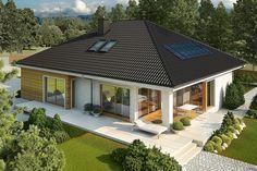 O casa fara etaj cu 3 dormitoare - proiect detaliat cu poze