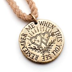 Love Token Necklace | 35 Perfect Personalized Gifts To Give This Year