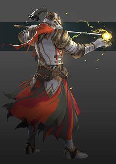 by小明 Fantasy Character Design, Character Drawing, Character Concept, Character Design Inspiration, Concept Art, Fantasy Rpg, Medieval Fantasy, High Fantasy, Anime Fantasy