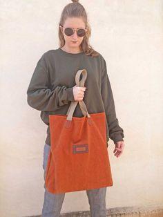 Bolso shopper lona y piel | Etsy Longchamp, Madewell, Tote Bag, Bags, Etsy, Fashion, Fur, Trends, Handbags