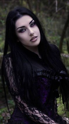 Gothic Chic, Dark Gothic, Hot Goth Girls, Gothic Girls, Goth Beauty, Dark Beauty, Dark Fashion, Gothic Fashion, Aya Sophia