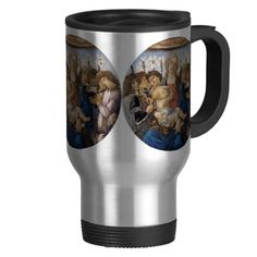Mary with Child and Singing Angels by Botticelli Mugs