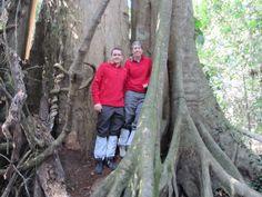 Viajeros Insolit en el Parque Nacional de Khao Yai, durante el trekking que os recomendamos allí