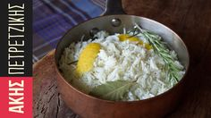 How to cook basmati rice by Greek chef Akis Petretzikis. A recipe to make the best, fluffiest basmati rice that is the perfect addition to so many saucy dishes! Chef Recipes, Greek Recipes, Vegan Recipes, Cooking Recipes, Sweets Recipes, Basmati Rice Recipes, Cooking Basmati Rice, Eggplant Dishes, Greek Cooking