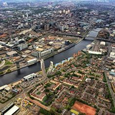 "VisitScotland on Twitter: ""Superb helicopter view of #Glasgow via @Indiana_jo!"