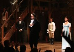 Lin-Manuel Miranda in Hamilton on Broadway. | All the Hip-Hop References in Hamilton: A Track-by-Track Guide