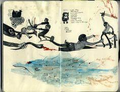 Rob Sato | #sketchbook #illustration