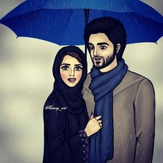 arab, art, and couples image