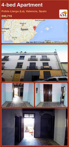 4-bed Apartment in Pobla Llarga (La), Valencia, Spain ►€40,715 #PropertyForSaleInSpain