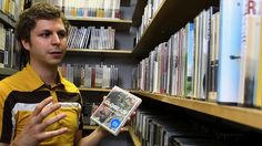 The hilarious and charming Michael Cera stopped by the Criterion Collection offices last week and even popped into the DVD closet. Excellent Movies, Michael Cera, The Criterion Collection, Photo Grouping, Movies And Tv Shows, Literature, Films, Watch, News