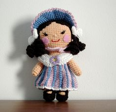 one piece doll - flower girl part2 - how to make clothes - free pattern