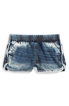 Ralph Lauren Denim Shorts (Toddler Girls & Little Girls) available at #Nordstrom