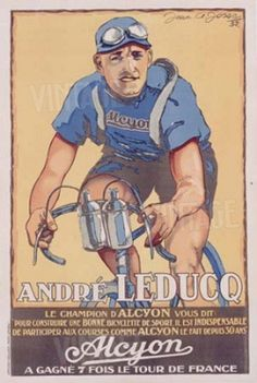 Vintage Cycling Posters and Prints