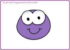 10 verschillende kleikaarten met leuke opdrachten op digibordonderbouw.nl Plasticine, Play Doh, Halloween Themes, Cute Drawings, Preschool, Doodles, Snoopy, Teaching, Fall