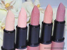 Schminkeckchen: Neu: Swatches der neuen Essence-Lippenprodukte (Standartsortiment)