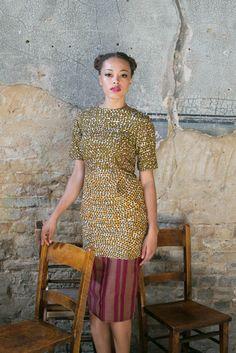 Nina Cowrie Dress