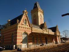 Guaratinguetá (SP) - antiga estação ferroviária, atual Secretaria de Turismo