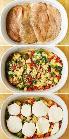 Baked Chicken Breast, Chicken Breasts, Healthy Baked Chicken, Artichoke Chicken, Cooking Recipes, Healthy Recipes, Mediterranean Recipes, Mediterranean Chicken Bake, Mediterranean Style