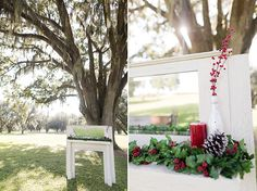fireplace mantle altar   design by Kelly Hancock Event Planning   Theresa NeSmith Photography   Glamour & Grace