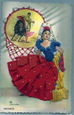 vintage Spanish postcard | eBay