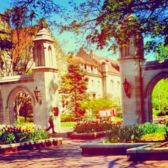 Indiana University - Sample Gates. The greatest college town.