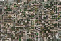 Agriculture, Kansas, États-Unis by konbini