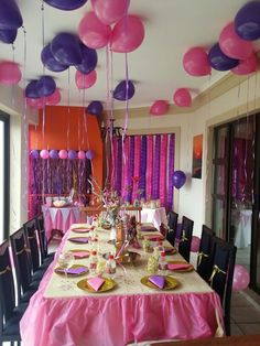 Ever after high party decorations!