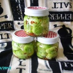 Zesty Pickled Brussels Sprouts - Allrecipes.com