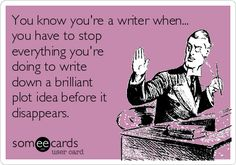 Search results for 'you know you're a writer when' Ecards from Free and Funny cards and hilarious Posts | someecards.com