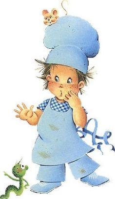 chef.quenalbertini: Little Chef illustration