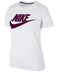 Nike Sportswear Essential Logo T-Shirt - White XS Tênis Nike Para Corrida a5bd5aa2e3745