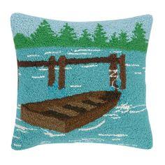 Found it at Wayfair - Lake Hook Wool Throw Pillow