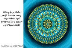 Mandala Naber správný směr Motivation, Life, Mandalas, Psychology, Daily Motivation, Determination