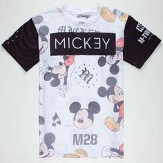 NEFF Disney Collection All Mickey Mens T-Shirt 232391168 | T-Shirts | Tillys.com