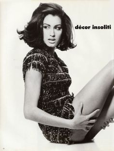 Yasmeen Ghauri in Vogue Italia