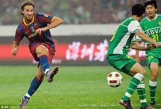 Zlatan Ibrahimovic could not adapt to playing alongside Messi and left Barcelona after jus...