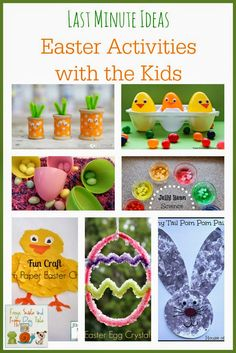 Last Minute Ideas  Easter Activities with the Kids {featured from the kids coop} by FSPDT
