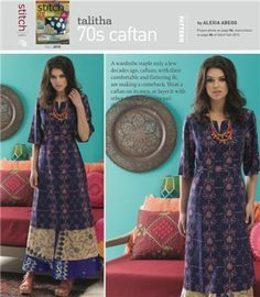 TALITHA 70'S CAFTAN: Free Sewing Pattern - Sew Daily