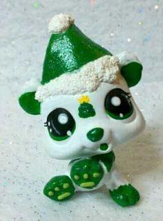 Carla Christmas Tree OOAK Custom Littlest Pet Shop | eBay