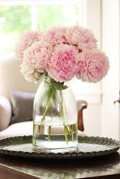 pink peonies, my fav flower.